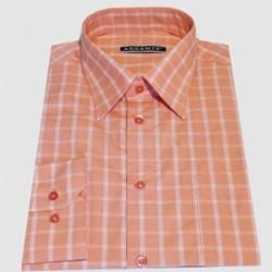 Predĺžená pánska košeľa oranžová Assante 20612
