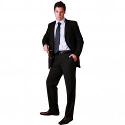 Černý pánský oblek společenský na výšku 182 - 188 cm fa Vorite 160618