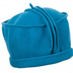 Petrolejovo modrý dámsky klobúk vlnený TONAK 87379