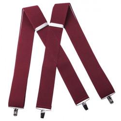 Vínovo červenej traky super široké Assante 90117
