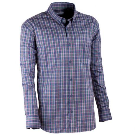 5d2ab7da5c9f Novinka Zeleno-modrá luxusní pánská flanelová košile teplá Tonelli 110910