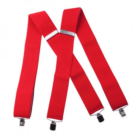 Červené traky super široké Assante 90121