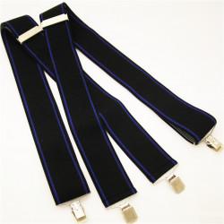 Čierno modré traky Assante 90127