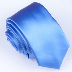 Slim modrá kravata Greg 99141