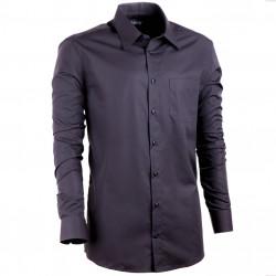 Čierna pánska košeľa Assante vypasovaná 30108