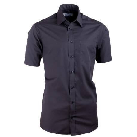 Čierna košeľa Aramgad vypasovaná 40131
