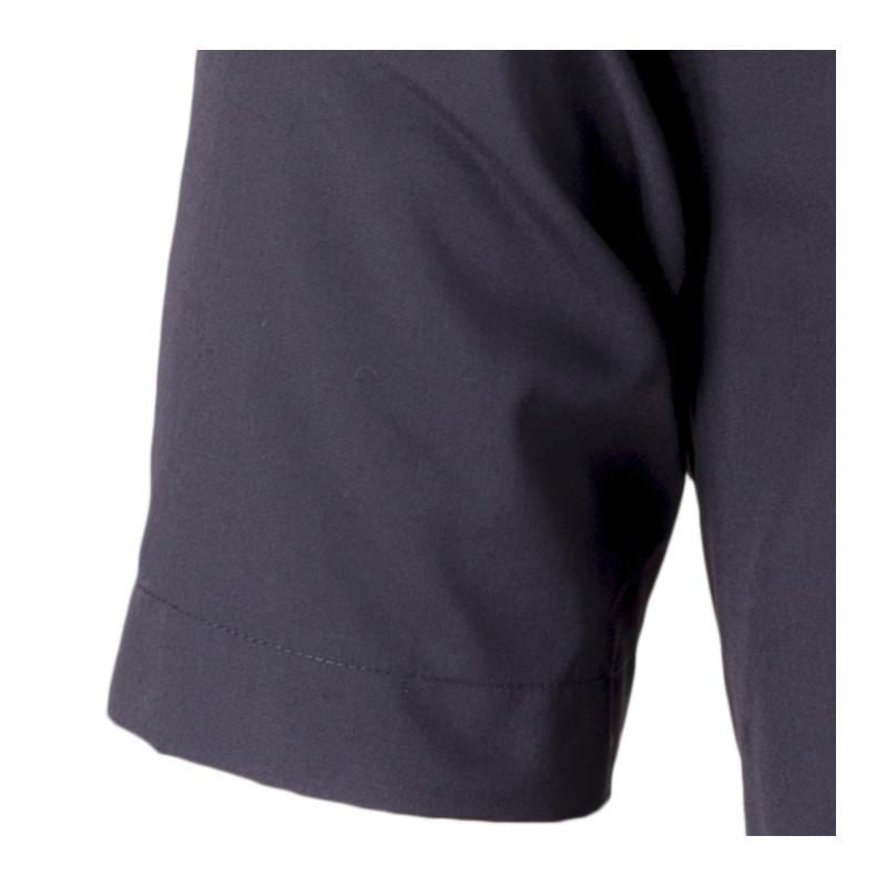 80055aff1526 Čierna pánska košeľa rovná Aramgad 40132
