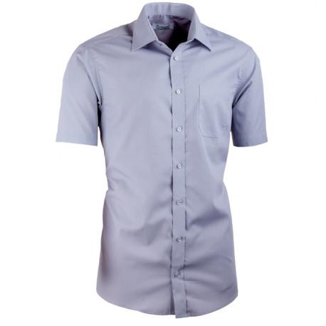 Sivá košeľa vypasovaná Aramgad 40133