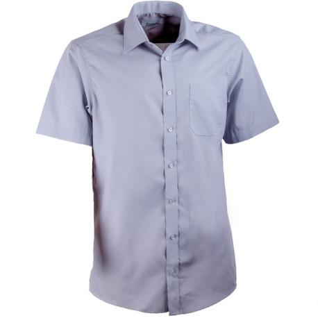 Košeľa šedá rovná Aramgad 40134