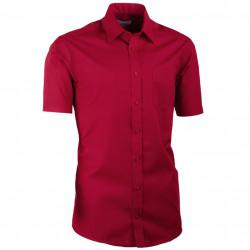 Bordová pánska košeľa vypasovaná Aramgad 40332