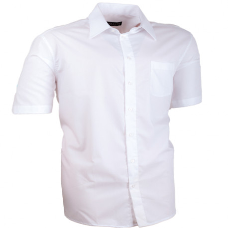 Nadmerná košele biela 100% bavlna non iron Assante 41012