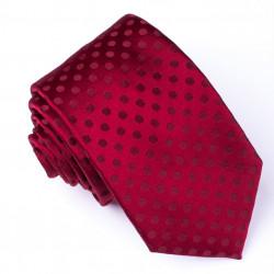 Pánska červená kravata Rene Chagal 93152