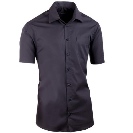 Čierna košeľa Assante slim fit 40115