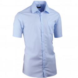 Modrá pánska košeľa Assante vypasovaná 40414