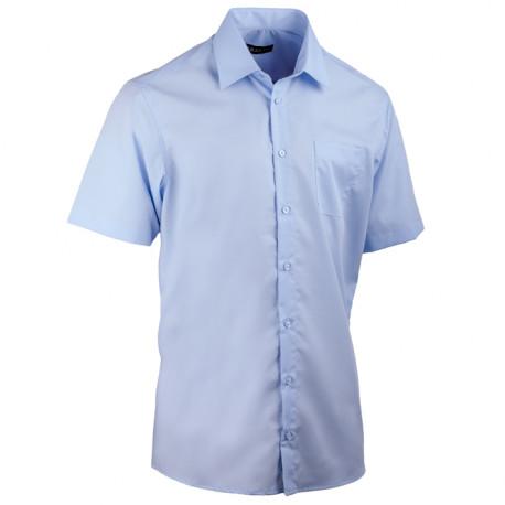 Pánska modrá košeľa Assante rovná 40415