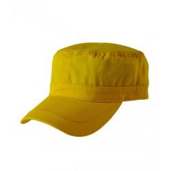 Žltá čiapka vojenského štýlu Cofee 81162
