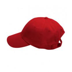 Červená baseballová šiltovka 100% bavlna Xfer 81147