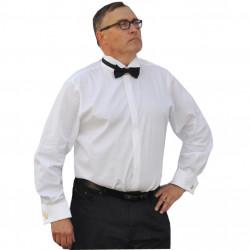 Frakovka pánska košeľa na manžetový gombík 100% bavlna non iron rovná Assante 30009