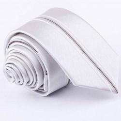 Svadobná sivá kravata Greg 91177