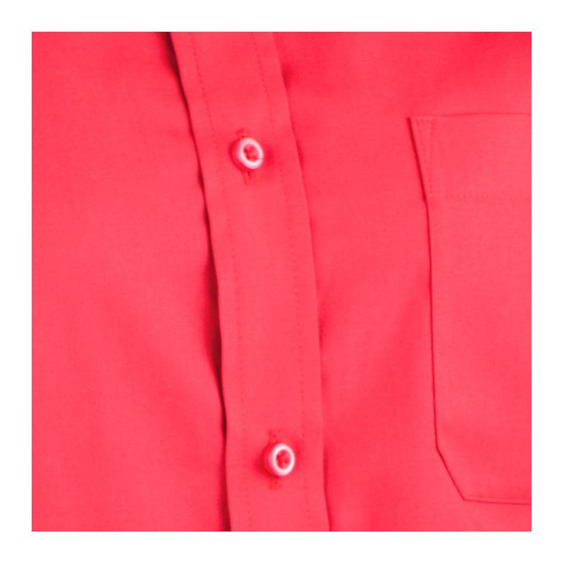 22d92cb43e9e Červená pánska košeľa slim fit s dlhým rukávom Aramgad 30382