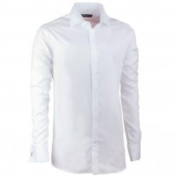 Košeľa na manžetový gombík regular biela Assante 30043