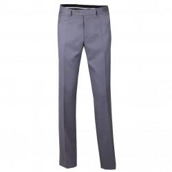 Sivé pánske spoločenské nohavice na výšku 176 - 182 cm Assante 60511
