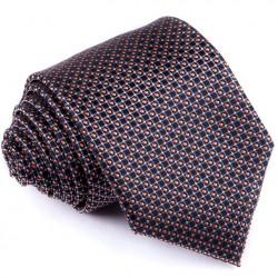 Čiernosivá luxusná kravata Greg 91199