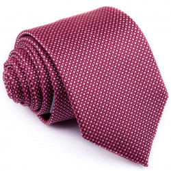 Kravata fialovoružová vzorka Greg 96147