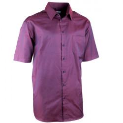 Elegantná bordó košele rovná regular fit Aramgad 40340