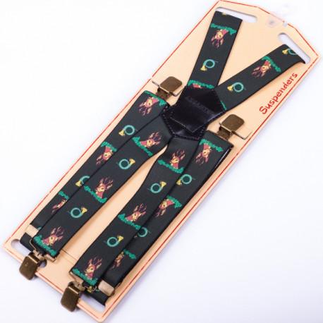 Luxusné poľovníckej traky srnec zelené Assante 90151