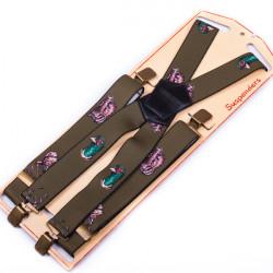 Luxusné poľovníckej traky zelenej kanec Assante 90152
