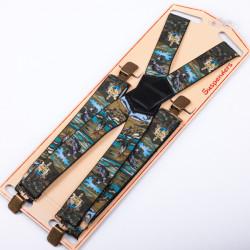 Luxusné rybárske traky zelenej rybár Assante 90155