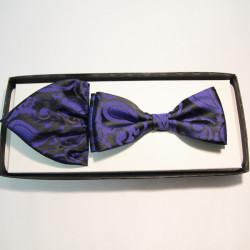 Tmavo modrý pánsky motýlik Assante 90261