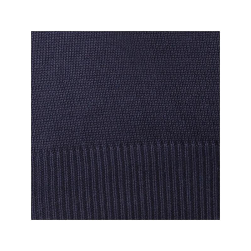 9627686d299d Čierny pánsky sveter ku krku Assante 51017