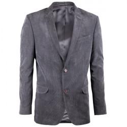 Predĺžené pánske sako sivé na výšku 188 - 194 cm Assante 60006
