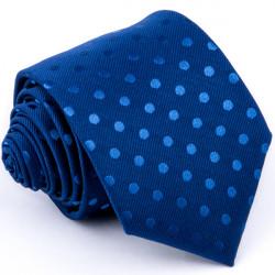 Bodkovaná modrá kravata Greg 94302
