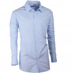 Nadmerná košele 100% bavlny modrá Assante 31099