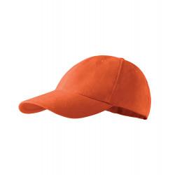 Oranžová baseballová šiltovka 100% bavlna Adler 81173