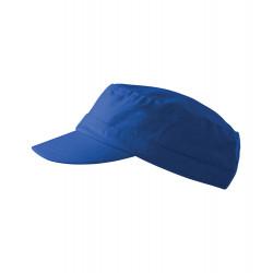 Kráľovsky modrá čiapka vojenského štýlu Adler 81177