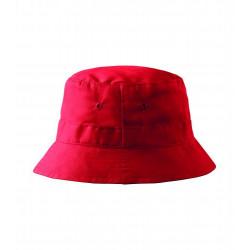 Letný bavlnený červený klobúk Adler 81185