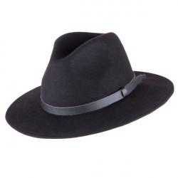 Čierny pánsky klobúk Assante 85003