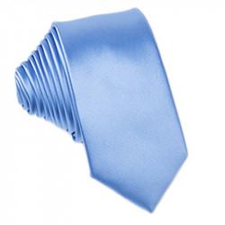 Modrá kravata jednofarebná Greg 99944