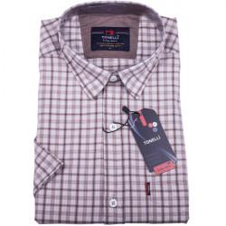 Béžová pánska košeľa krátky rukáv Tonelli 110808