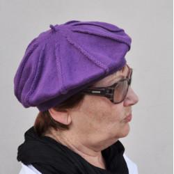 Fialová dámska čiapka ANYTRA 83209