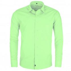 Predĺžená pánska košeľa zelená Friends and Rebels 20505