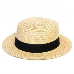 Béžový pánsky klobúk Jonáš slamený Mes 80019