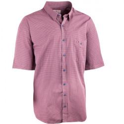 Nadmerná košeľa 100% bavlna červenošedá Tonelli 110829