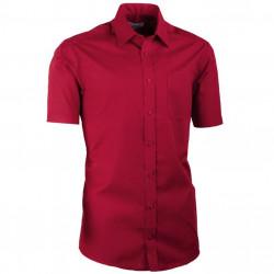 Nadmerná košele bordó 100% bavlna non iron Assante 41035