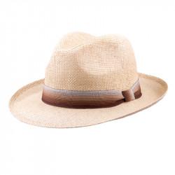 Béžový pánsky letný klobúk Assante 80004