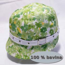 Zelená dámska čiapka Assante 83102